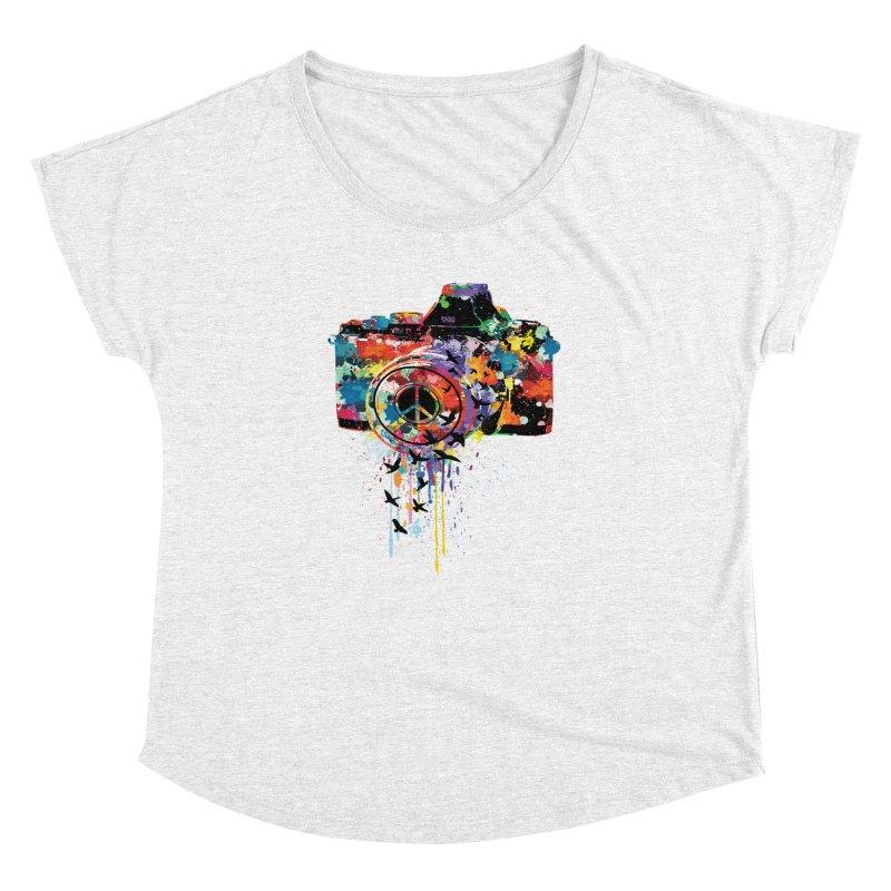 colorful DSLR Women's Dolman by cindyshim's Artist Shop