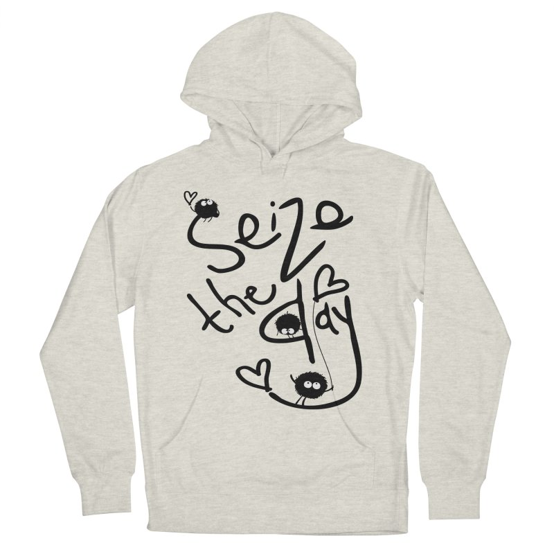 Seize the day Men's Pullover Hoody by cindyshim's Artist Shop