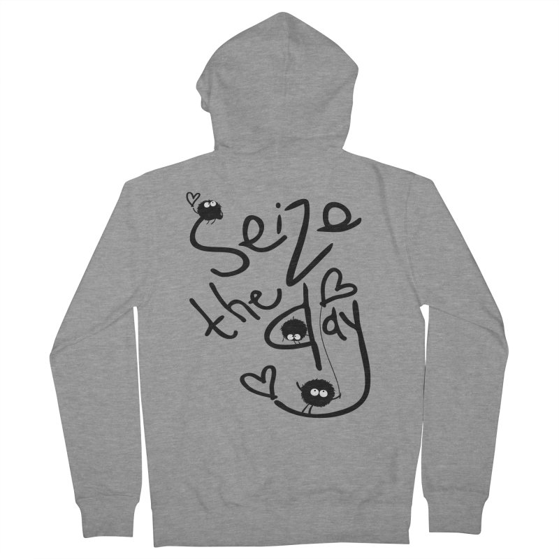 Seize the day Women's Zip-Up Hoody by cindyshim's Artist Shop