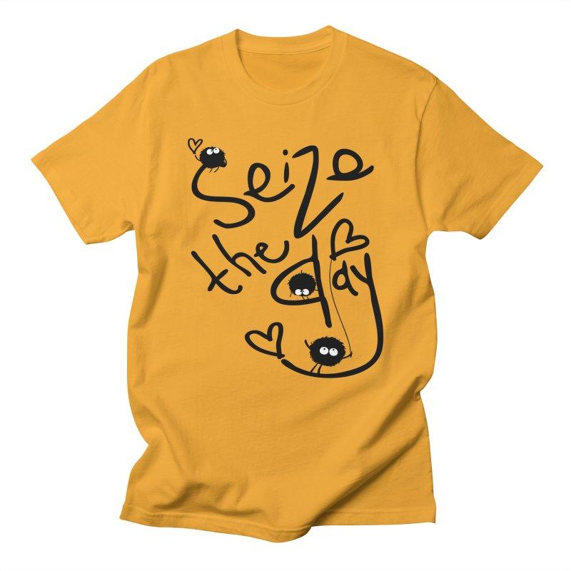 Seize the day Men's T-shirt by cindyshim's Artist Shop