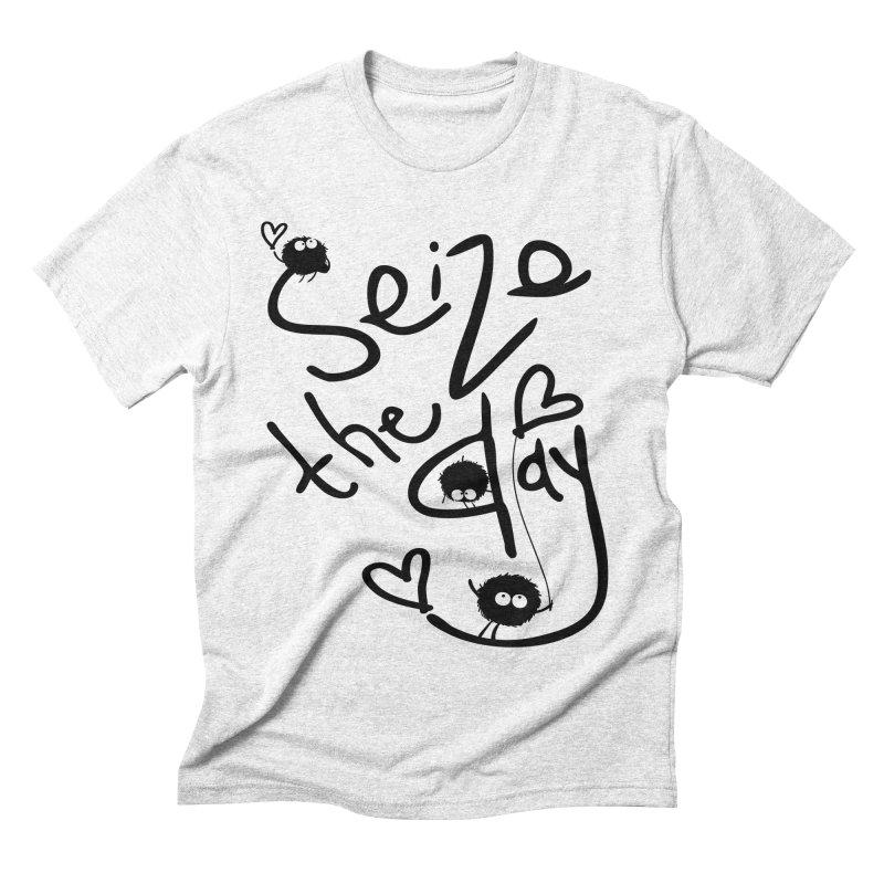 Seize the day Men's Triblend T-shirt by cindyshim's Artist Shop