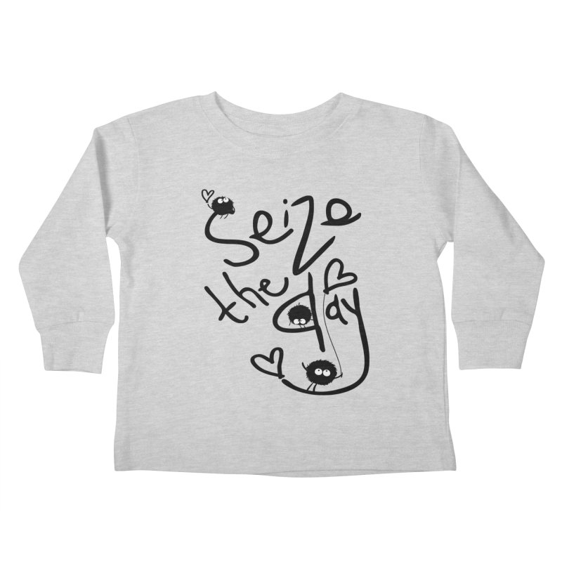 Seize the day Kids Toddler Longsleeve T-Shirt by cindyshim's Artist Shop