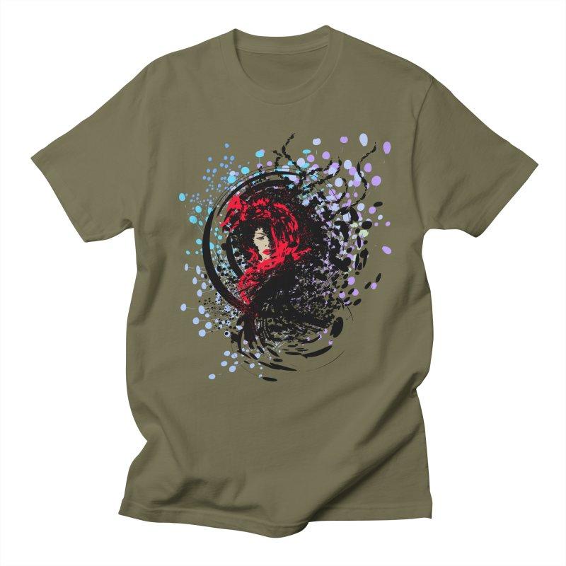 Foxy Men's T-Shirt by cindyshim's Artist Shop