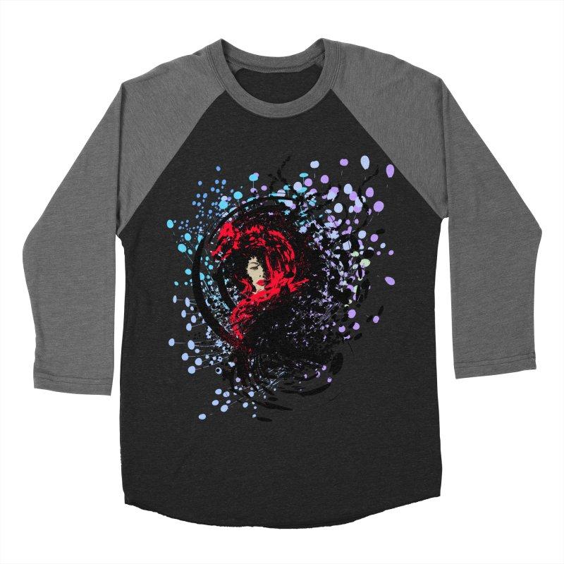 Foxy Women's Baseball Triblend T-Shirt by cindyshim's Artist Shop