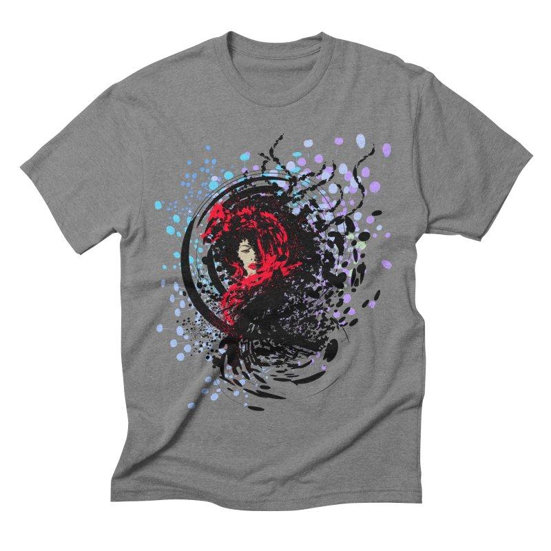 Foxy Men's Triblend T-shirt by cindyshim's Artist Shop