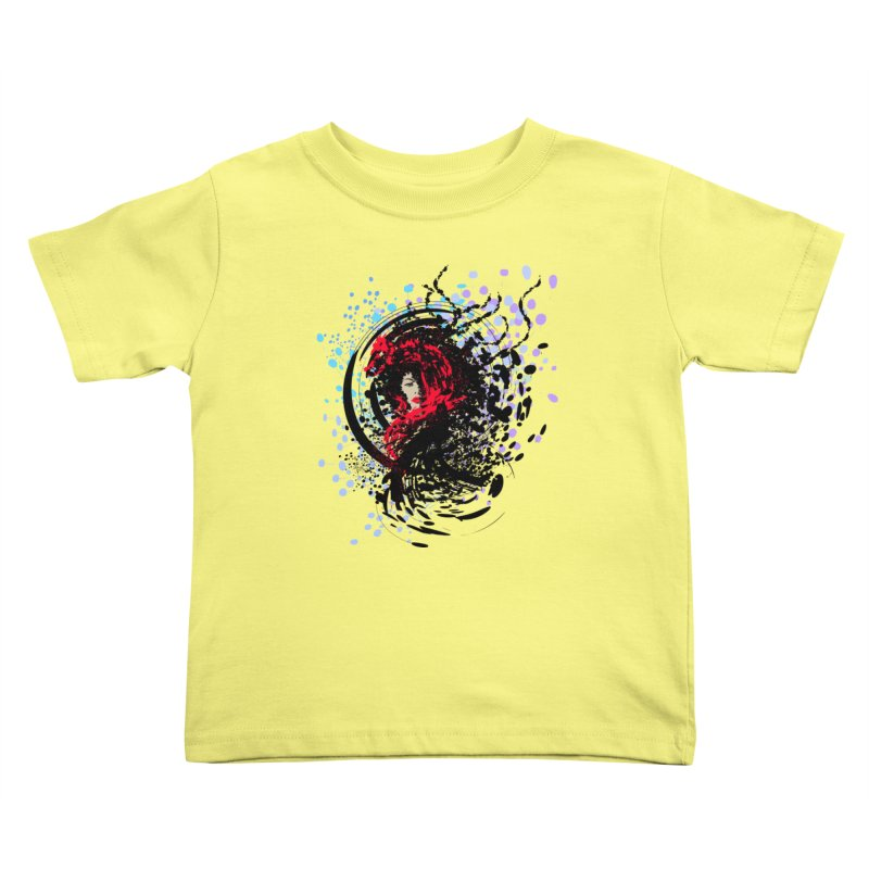 Foxy Kids Toddler T-Shirt by cindyshim's Artist Shop