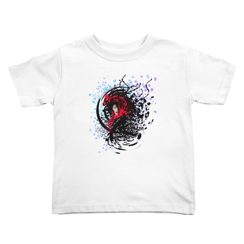 Foxy Kids Toddler T-Shirt by cindyshim's Artist Shop