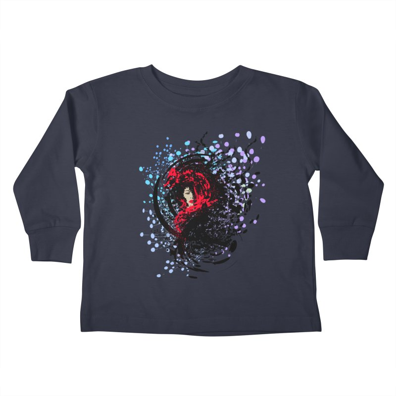 Foxy Kids Toddler Longsleeve T-Shirt by cindyshim's Artist Shop