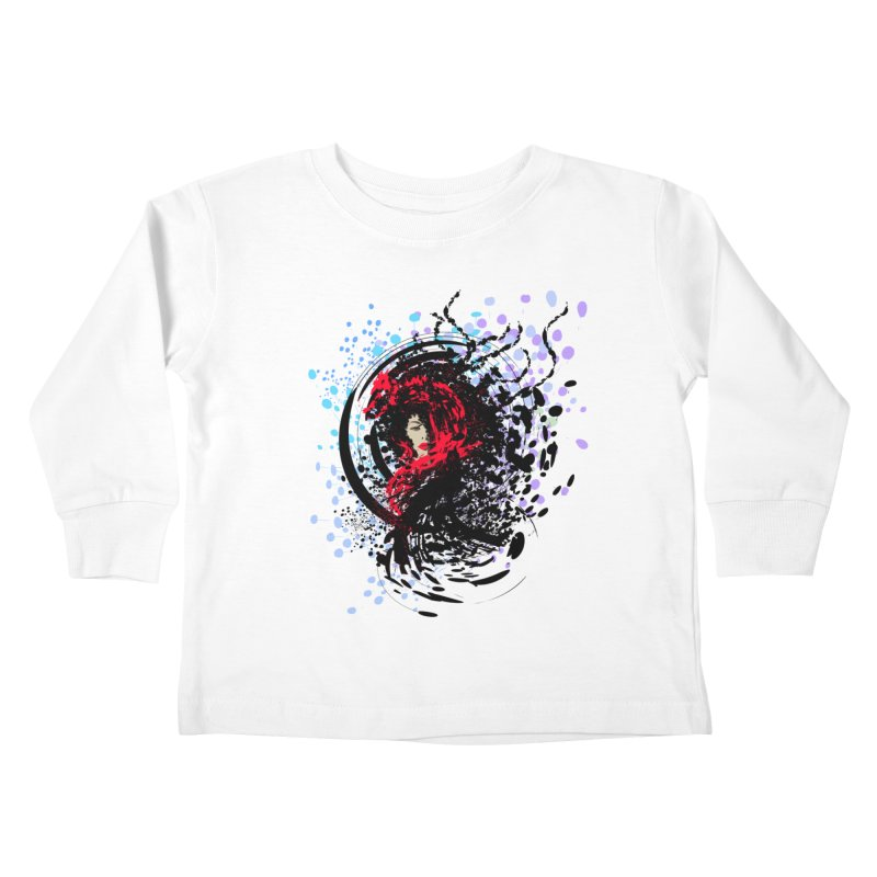 Foxy Kids Toddler Longsleeve T-Shirt by cindyshim's Artist Shop
