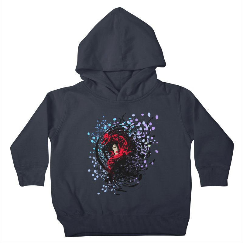 Foxy Kids Toddler Pullover Hoody by cindyshim's Artist Shop