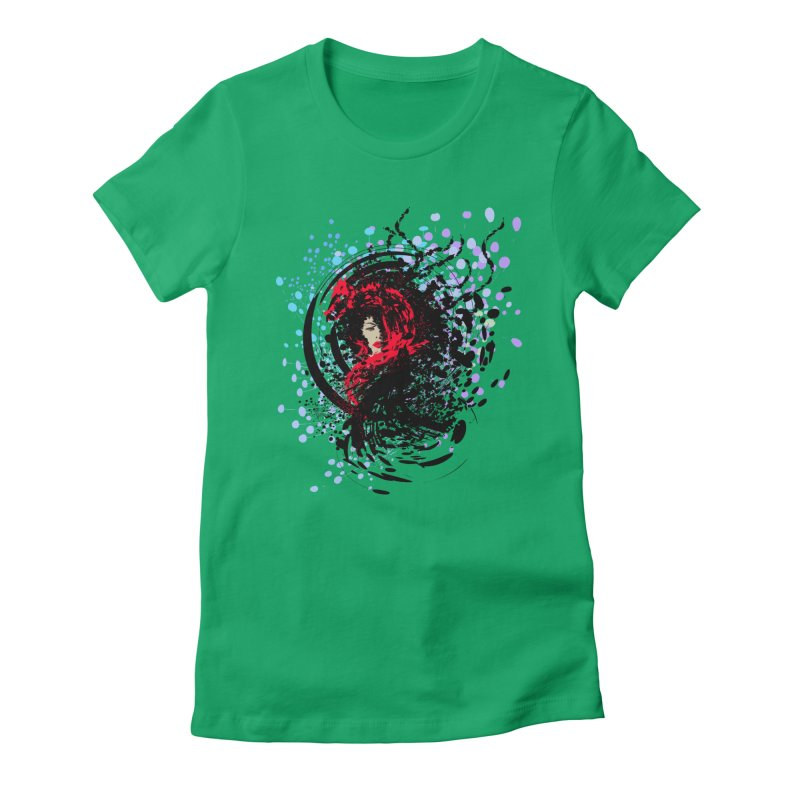 Foxy Women's Fitted T-Shirt by cindyshim's Artist Shop