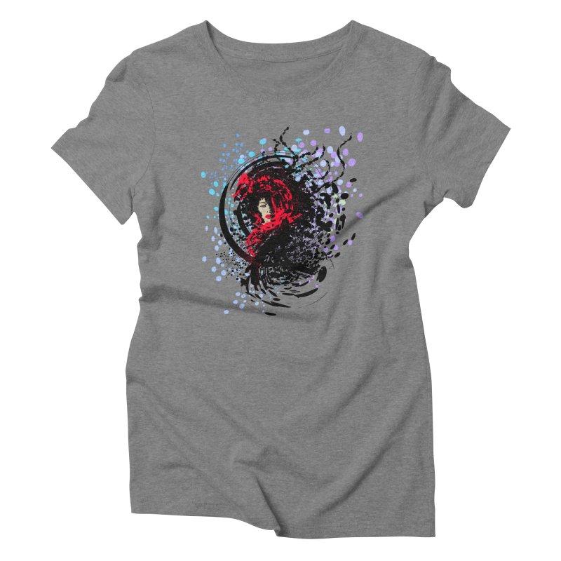 Foxy Women's Triblend T-Shirt by cindyshim's Artist Shop