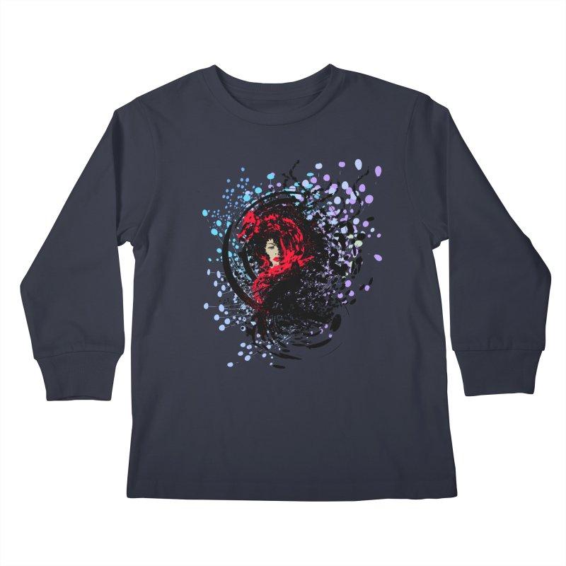 Foxy Kids Longsleeve T-Shirt by cindyshim's Artist Shop