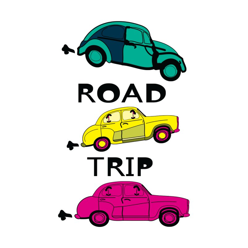 Road trip Women's V-Neck by cindyshim's Artist Shop