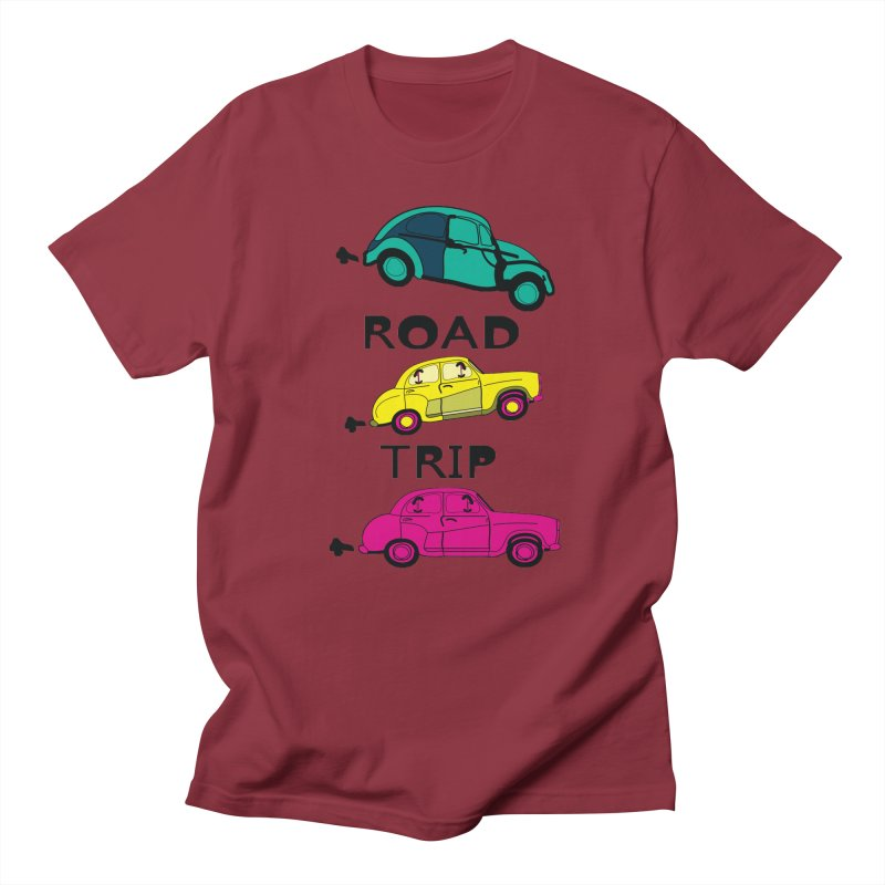 Road trip Men's T-Shirt by cindyshim's Artist Shop