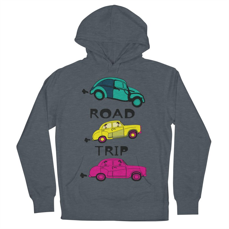Road trip Men's French Terry Pullover Hoody by cindyshim's Artist Shop