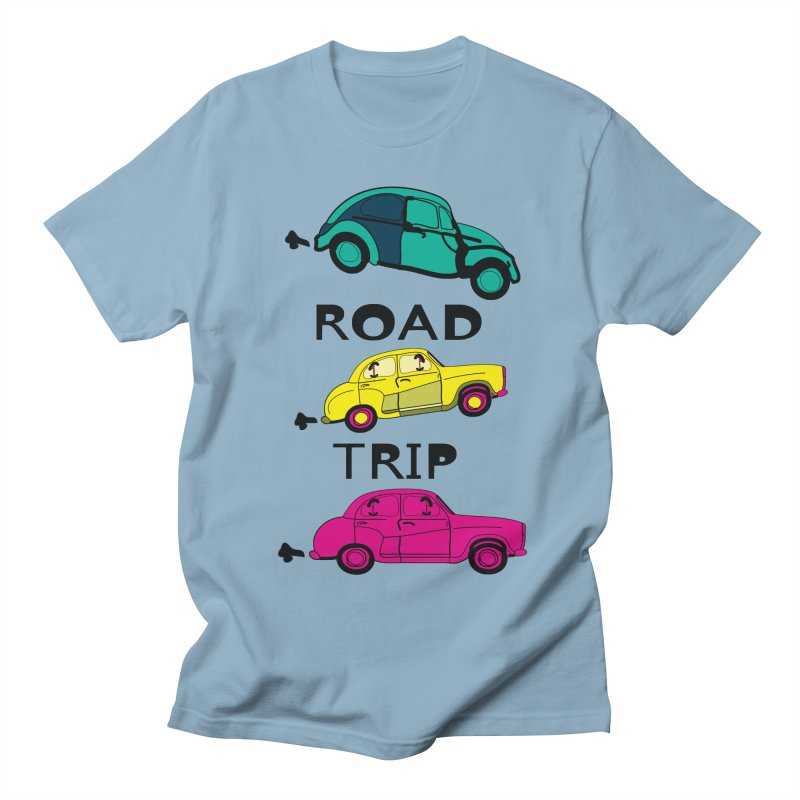 Road trip Women's Regular Unisex T-Shirt by cindyshim's Artist Shop