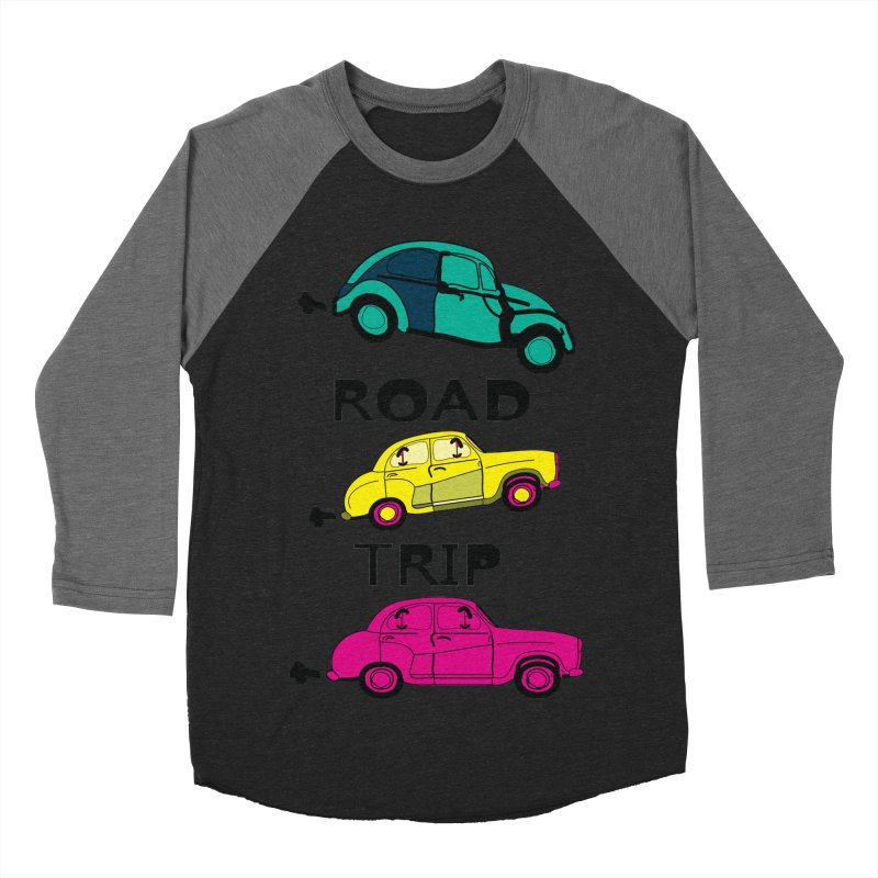 Road trip Women's Baseball Triblend Longsleeve T-Shirt by cindyshim's Artist Shop