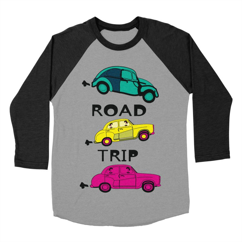 Road trip Women's Baseball Triblend T-Shirt by cindyshim's Artist Shop