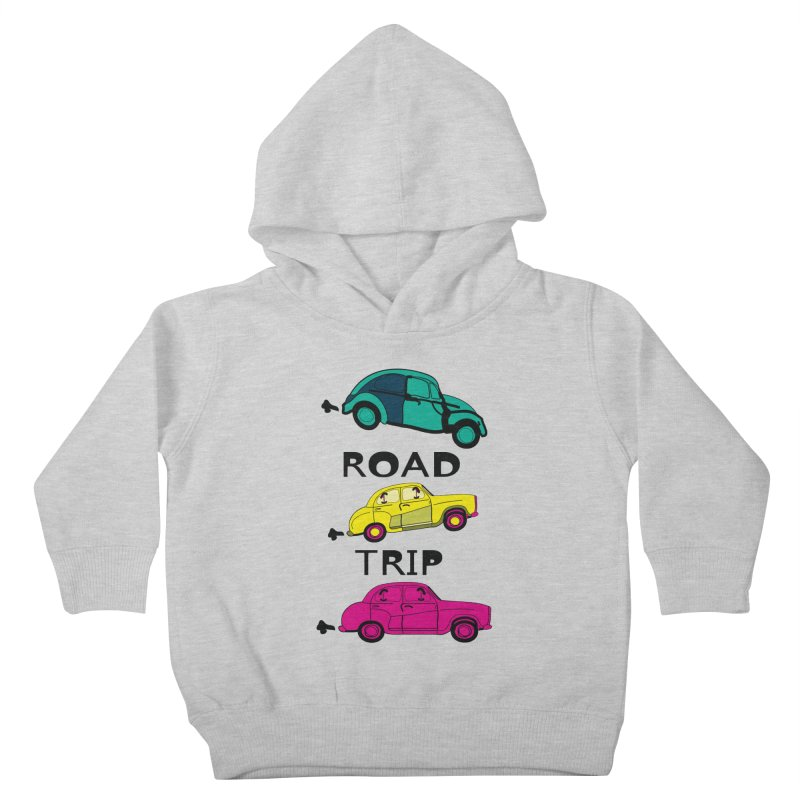 Road trip Kids Toddler Pullover Hoody by cindyshim's Artist Shop