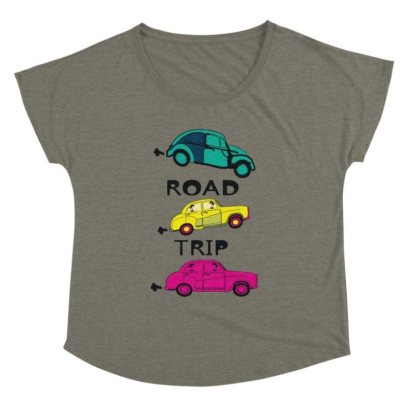 Road trip Women's Dolman by cindyshim's Artist Shop