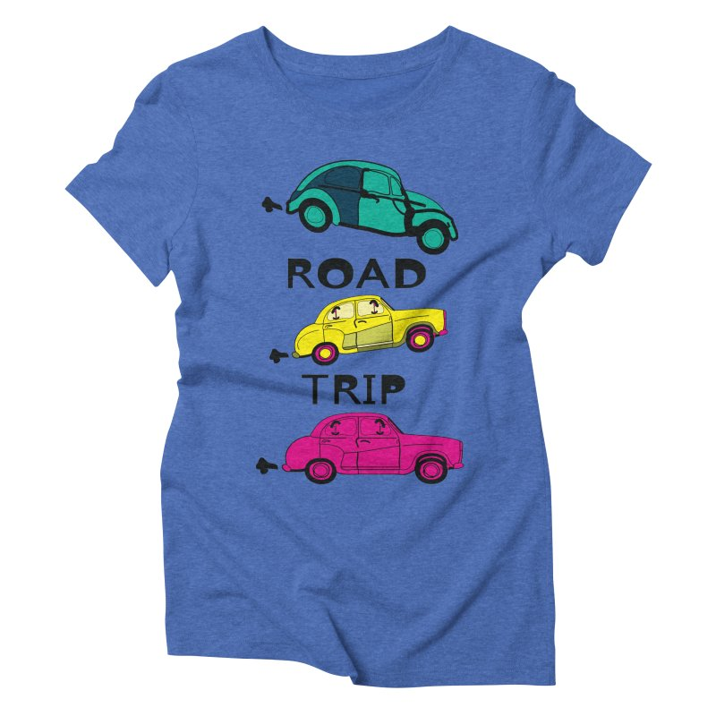 Road trip Women's Triblend T-Shirt by cindyshim's Artist Shop