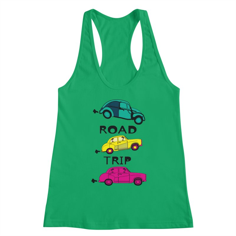 Road trip Women's Tank by cindyshim's Artist Shop