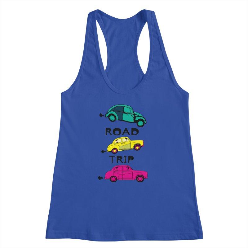 Road trip Women's Racerback Tank by cindyshim's Artist Shop
