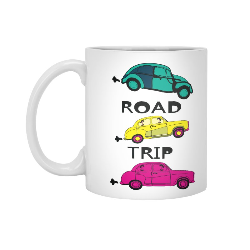 Road trip Accessories Mug by cindyshim's Artist Shop