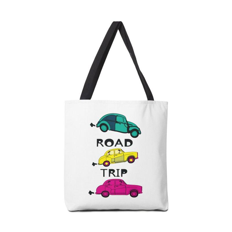 Road trip Accessories Bag by cindyshim's Artist Shop