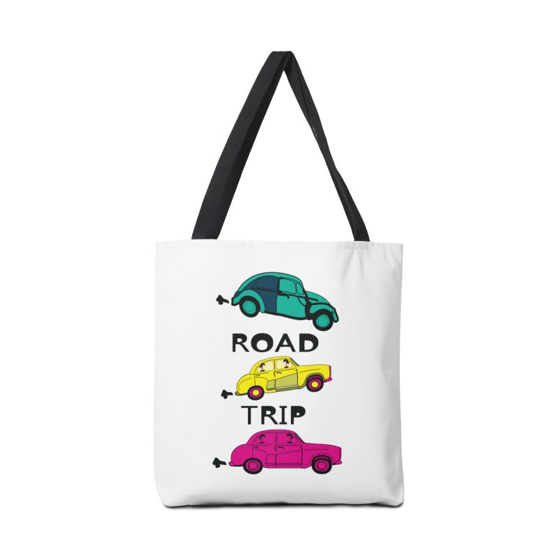 Road trip Accessories Tote Bag Bag by cindyshim's Artist Shop