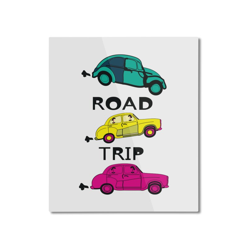 Road trip Home Mounted Aluminum Print by cindyshim's Artist Shop