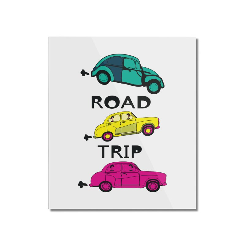 Road trip Home Mounted Acrylic Print by cindyshim's Artist Shop