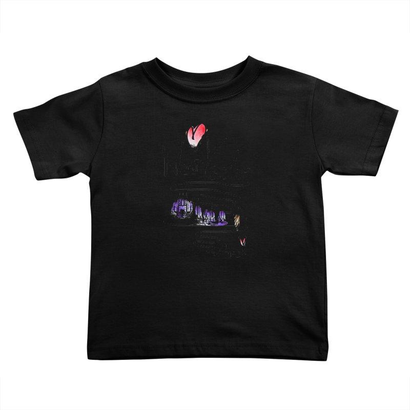 Love New York Kids Toddler T-Shirt by cindyshim's Artist Shop
