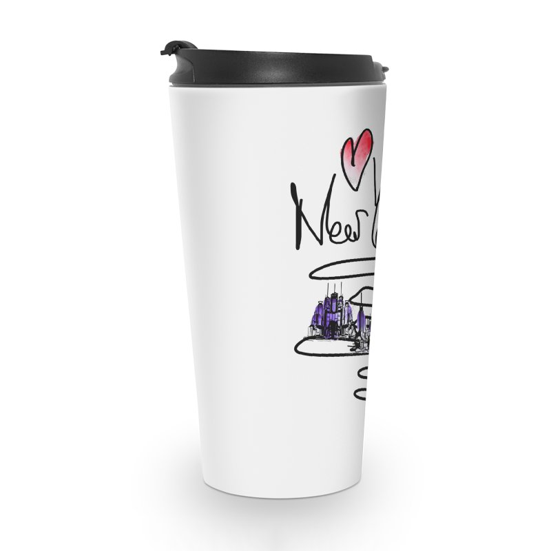 Love New York Accessories Mug by cindyshim's Artist Shop