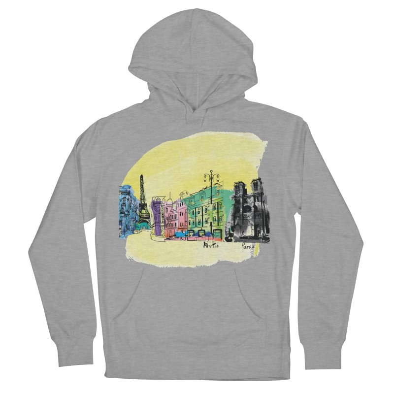 Travel in Paris Women's Pullover Hoody by cindyshim's Artist Shop