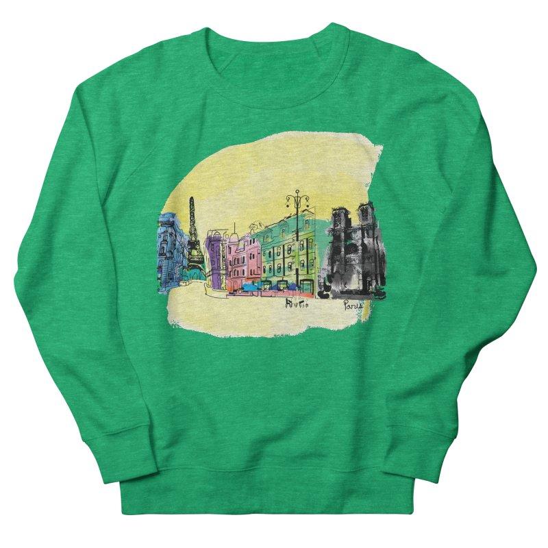 Travel in Paris Women's Sweatshirt by cindyshim's Artist Shop