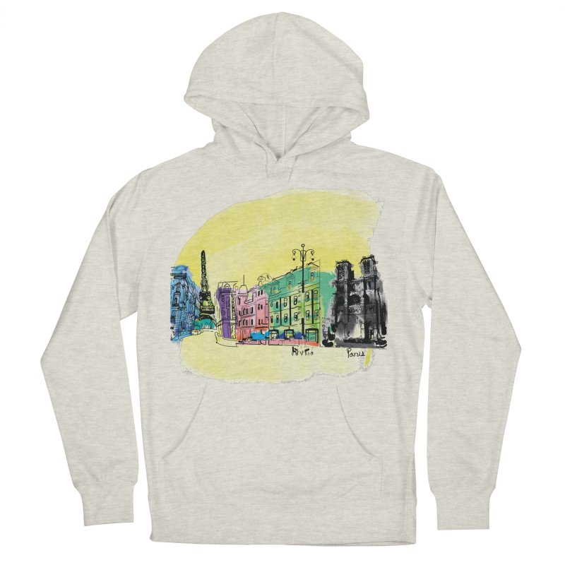 Travel in Paris Men's Pullover Hoody by cindyshim's Artist Shop