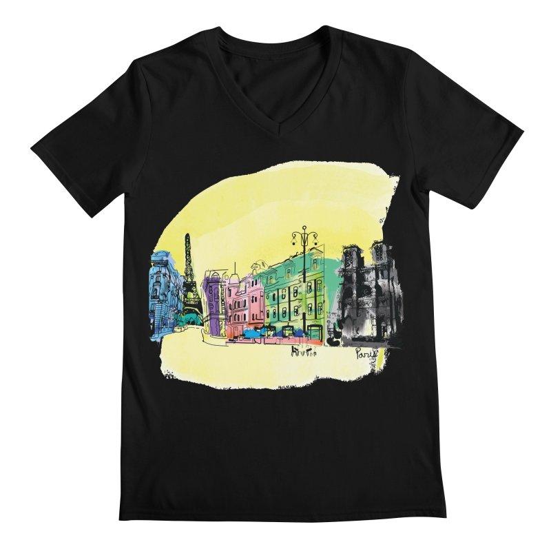 Travel in Paris Men's  by cindyshim's Artist Shop