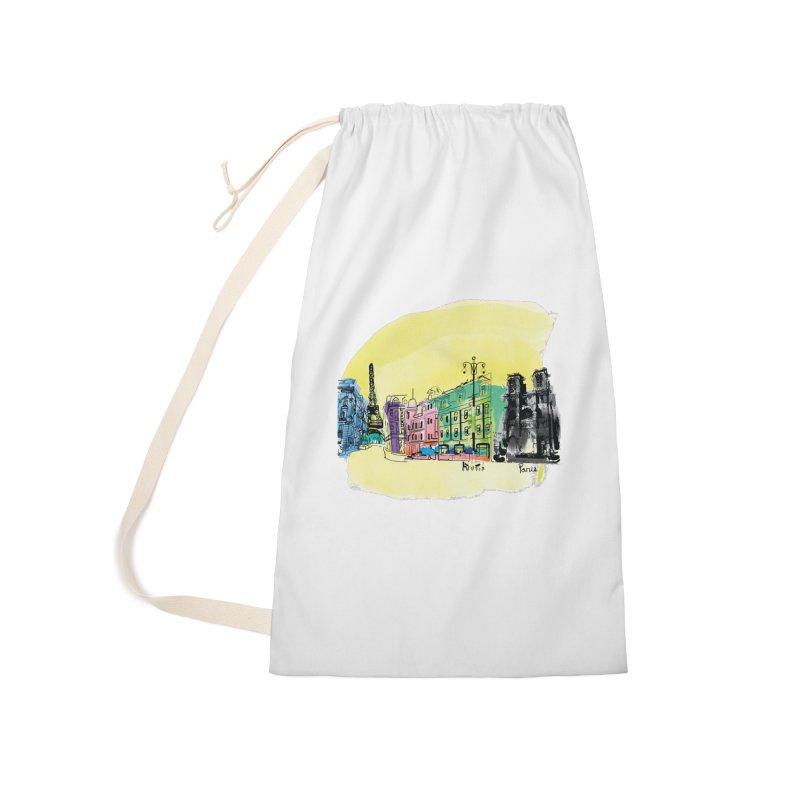 Travel in Paris Accessories Laundry Bag Bag by cindyshim's Artist Shop