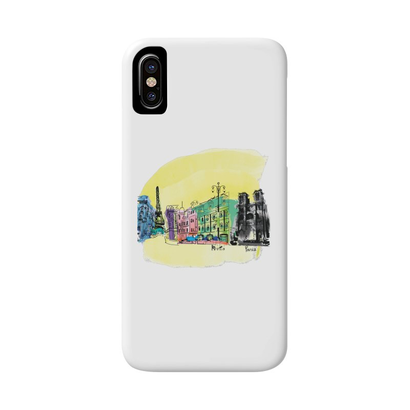 Travel in Paris Accessories Phone Case by cindyshim's Artist Shop