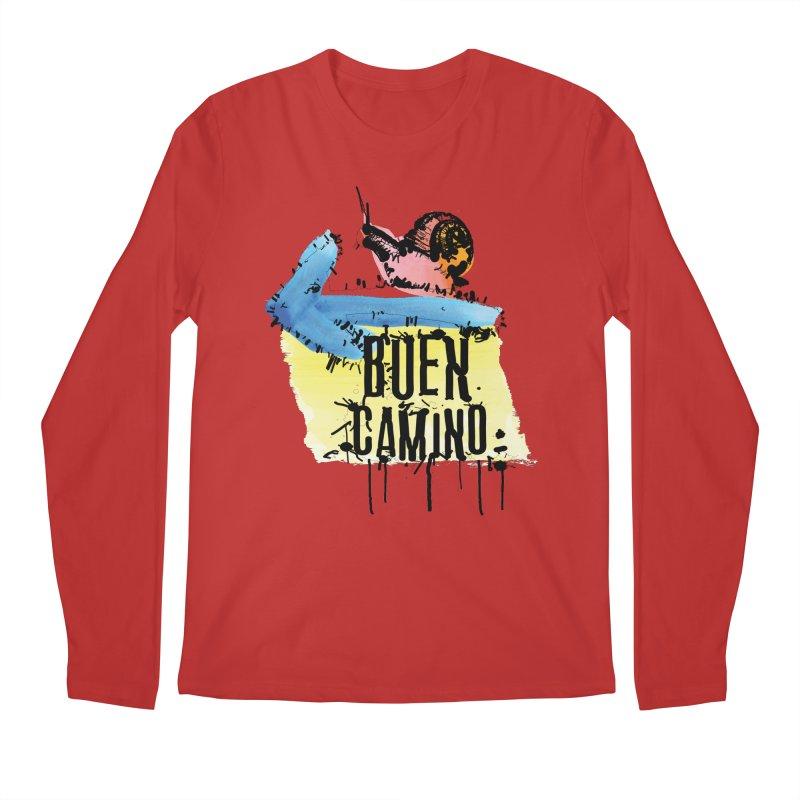 Buen Camino Men's Longsleeve T-Shirt by cindyshim's Artist Shop
