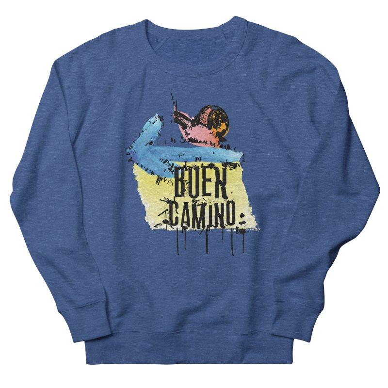Buen Camino Men's Sweatshirt by cindyshim's Artist Shop