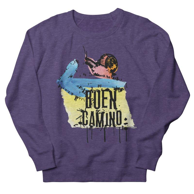 Buen Camino Men's French Terry Sweatshirt by cindyshim's Artist Shop