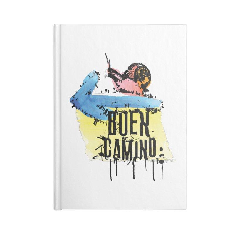 Buen Camino Accessories Blank Journal Notebook by cindyshim's Artist Shop