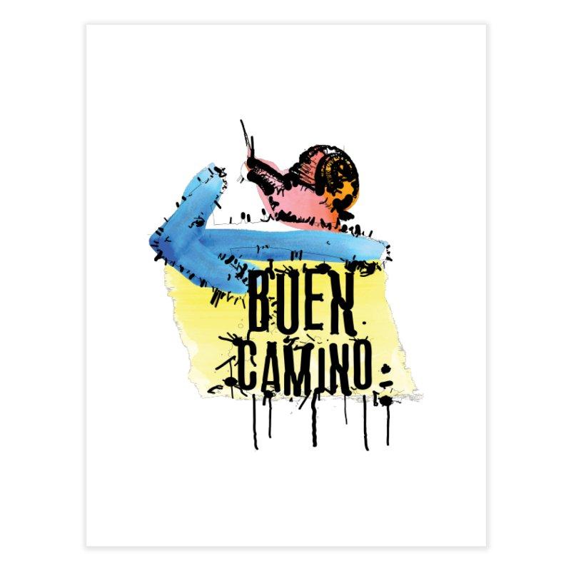 Buen Camino Home Fine Art Print by cindyshim's Artist Shop