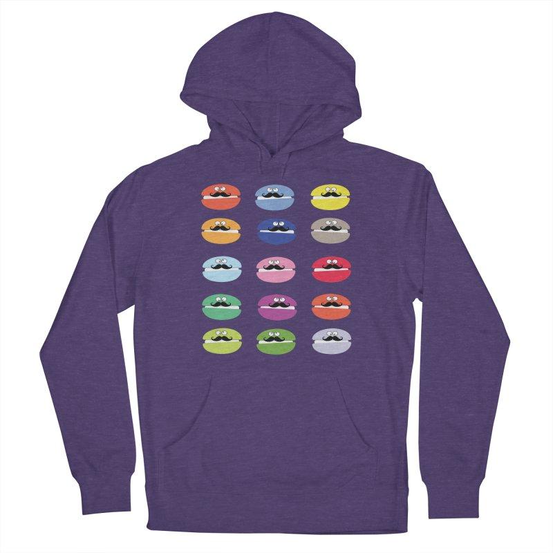 mustache macarons Men's Pullover Hoody by cindyshim's Artist Shop