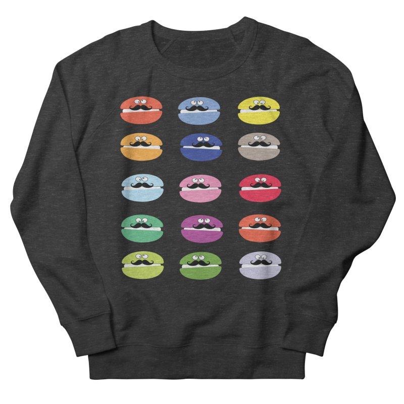 mustache macarons Men's Sweatshirt by cindyshim's Artist Shop