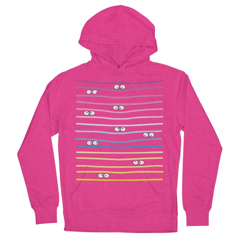 Watching you Women's French Terry Pullover Hoody by cindyshim's Artist Shop