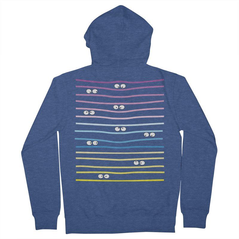 Watching you Women's French Terry Zip-Up Hoody by cindyshim's Artist Shop